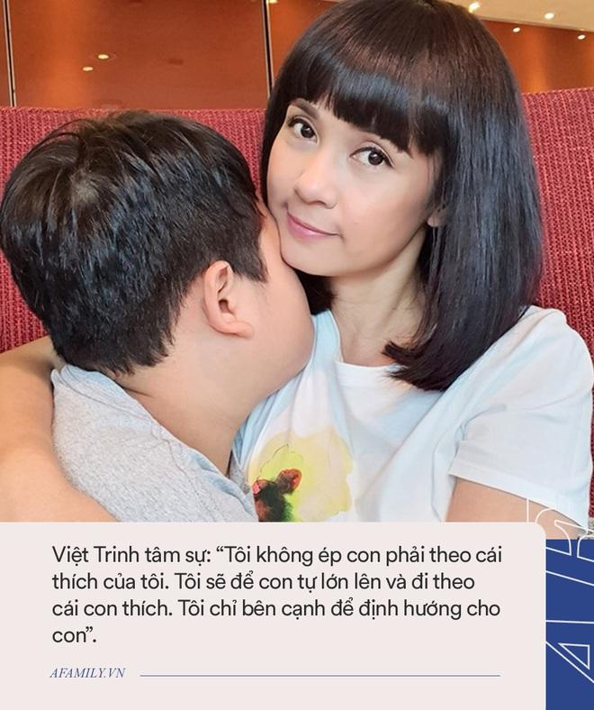 Cậu con trai bí ẩn của Việt Trinh: Mới 11 tuổi đã cao lớn phổng phao, không biết mẹ là người nổi tiếng đến khi chứng kiến điều này - Ảnh 3.