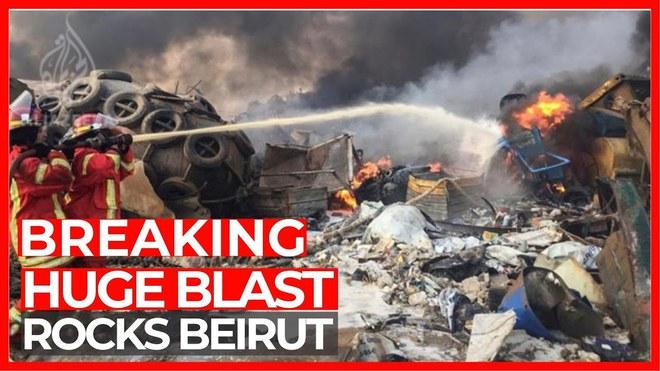 Hình ảnh nổ kinh hoàng như ngày tận thế: Sóng xung kích xé toạc cả Beirut trong vài giây - Ảnh 2.