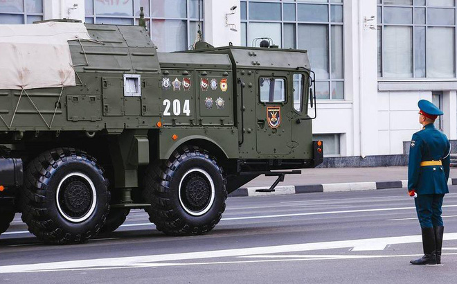 """Tên lửa """"nguy hiểm nhất"""" của Nga khoe sức mạnh vũ bão"""