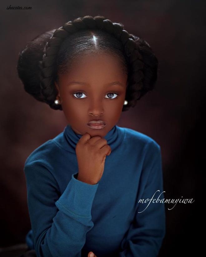 Sau 2 năm gây sốt mạng xã hội, cô bé châu Phi đẹp nhất thế giới hiện ra sao? - Ảnh 4.