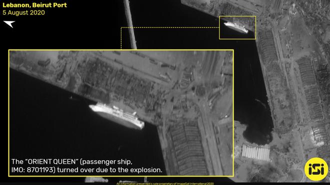 Vụ nổ cực lớn ở Li-băng: Nga công bố ảnh vệ tinh gây sốc - Ảnh 6.