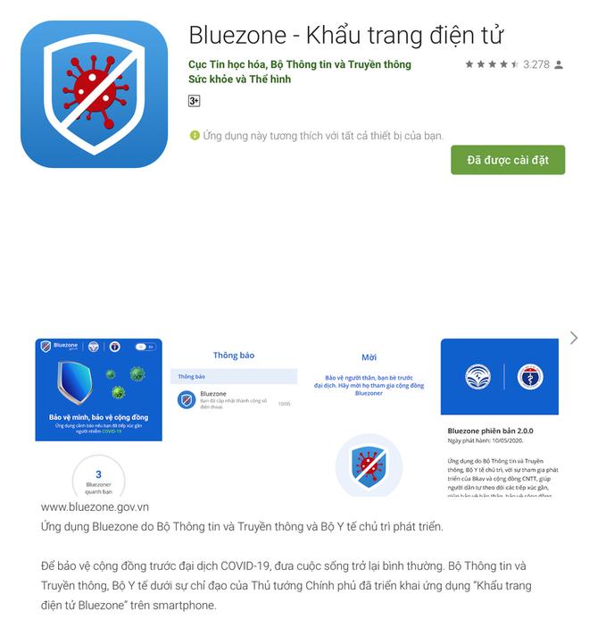 Hướng dẫn cài đặt, cách sử dụng ứng dụng Bluezone để phòng tránh Covid-19 - Ảnh 1.
