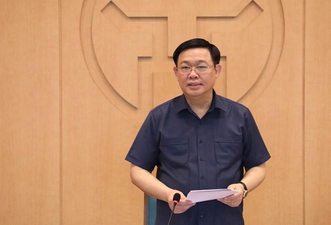 Chủ tịch Nguyễn Đức Chung: 10 ngày nữa không có ca Covid-19 mới, Hà Nội tương đối an toàn - Ảnh 1.