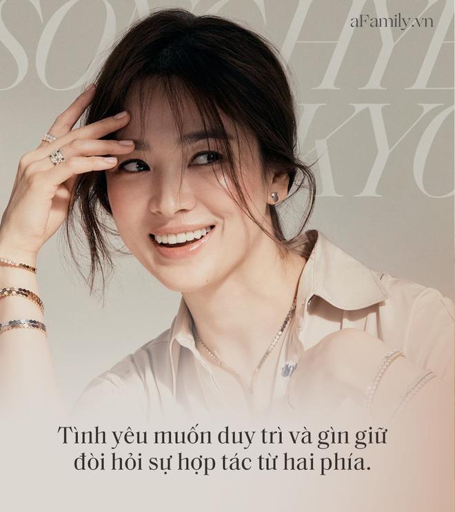 Song Hye Kyo đá xoáy chồng cũ Song Joong Ki trong bài phỏng vấn mới: Nhấn mạnh sự phức tạp tới 3 lần - ảnh 2