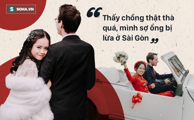 """Cô gái Việt """"đổ"""" chàng kĩ sư Đức vì cái choàng vai lúc 2h sáng và chuyến """"bỏ nhà theo trai"""" kiếm được chồng"""