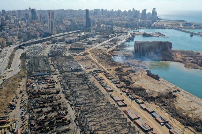 Tin mới nhất về vụ nổ kinh hoàng tại Li-băng - Trung Đông dậy sóng, Israel nã mưa tên lửa - Ảnh 1.
