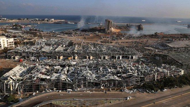 Hình ảnh sốc vừa được công bố về vụ nổ kinh hoàng ở Li-băng - TT Mỹ, Pháp lên tiếng khẩn - Ảnh 4.