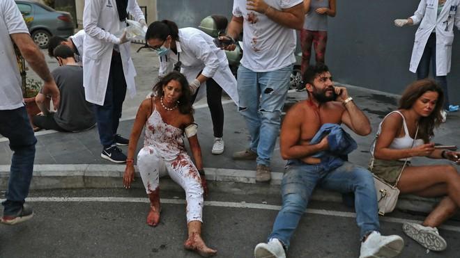Hình ảnh sốc vừa được công bố về vụ nổ kinh hoàng ở Li-băng - TT Mỹ, Pháp lên tiếng khẩn - Ảnh 6.