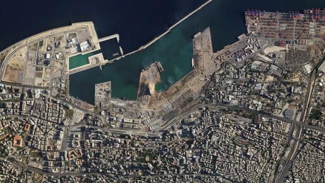 Hình ảnh sốc vừa được công bố về vụ nổ kinh hoàng ở Li-băng - TT Mỹ, Pháp lên tiếng khẩn - Ảnh 1.
