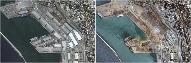 Hình ảnh sốc vừa được công bố về vụ nổ kinh hoàng ở Li-băng - TT Mỹ, Pháp lên tiếng khẩn - Ảnh 2.