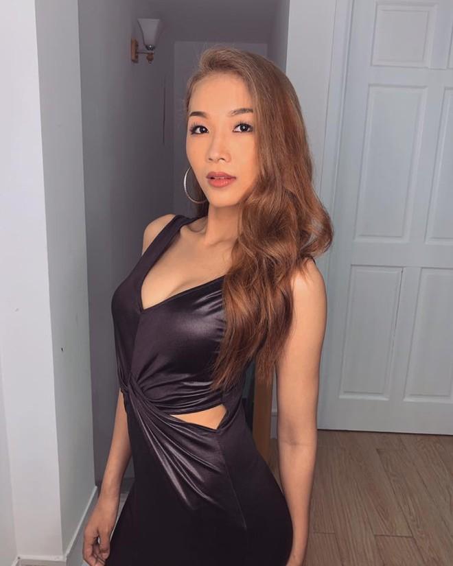 Em gái luật sư của Hoàng Thùy: Bị loại khỏi Hoa hậu Hoàn vũ vì chiều cao nhưng body lại bốc lửa không kém chị gái - Ảnh 4.