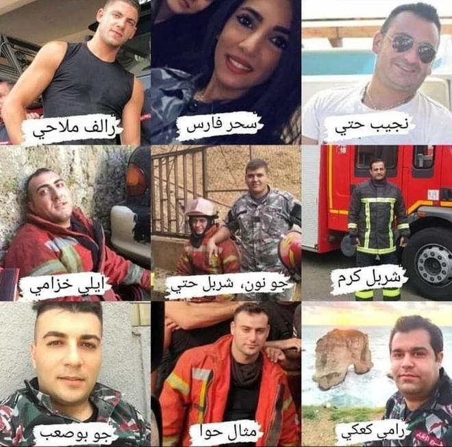 Lebanon: Nhói lòng hình ảnh 3 lính cứu hỏa phá khoá xông vào tử địa - Ảnh 2.