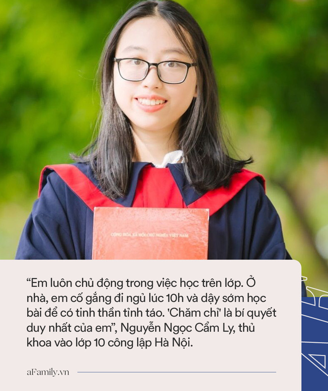 Gặp gỡ cô gái có điểm thi cao nhất vào lớp 10 công lập Hà Nội: Luôn đi ngủ lúc 10h nhưng bất ngờ hơn là quyết định chọn trường - ảnh 1