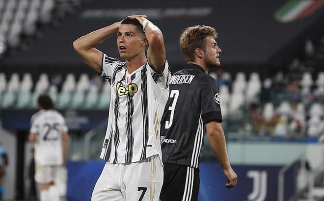 """Lập siêu phẩm, phá kỷ lục, nhưng Ronaldo vẫn phải nhìn đội nhà """"bay"""" khỏi Champions League"""