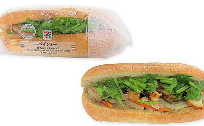 """Bánh mì Việt Nam bất ngờ xuất hiện trên kệ của hệ thống 7-Eleven tại Nhật Bản với giá tận 80k đồng/ ổ, dân mạng cầu mong """"chỉ cần giống 70% bản gốc là được"""""""