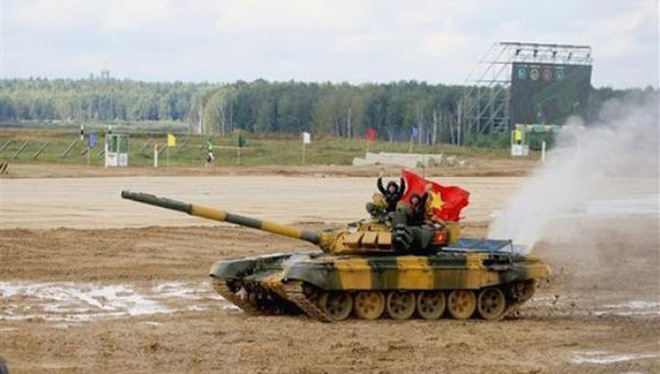 Đại tá Nguyễn Khắc Nguyệt: Việt Nam suýt chút nữa lấm lưng, trắng bụng ở Tank Biathlon 2020 - Ảnh 3.