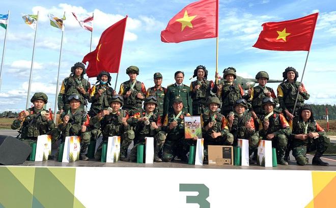 Công binh Việt Nam giành huy chương Đồng Army Games