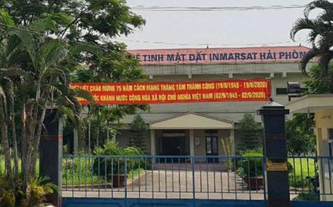Đổ cột ăng-ten Đài vệ tinh mặt đất Inmarsat ở Hải Phòng, 1 người tử vong