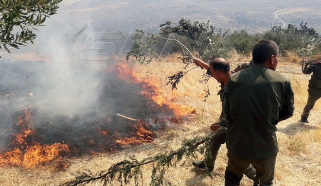 Máy bay lạ liên tiếp không kích QĐ Syria - Hé lộ sự thực cảnh quay phi công Nga kêu cứu ở Libya! - Ảnh 1.