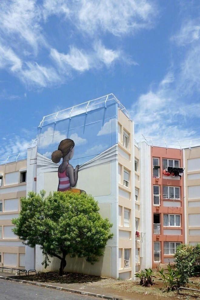 Ngỡ ngàng với những màn kết hợp đỉnh cao giữa tự nhiên và nghệ thuật trên đường phố - Ảnh 2.