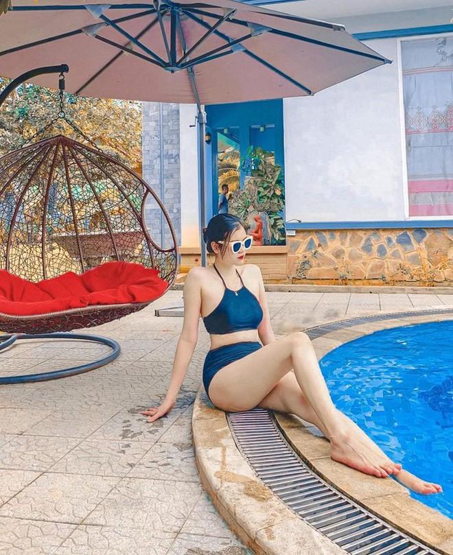 Thí sinh Hoa hậu Việt Nam 2020 khoe dáng cực phẩm với bikini - Ảnh 2.