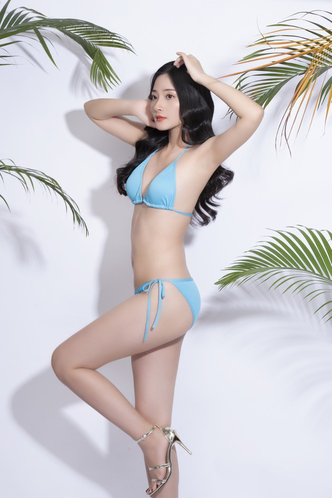 Thí sinh Hoa hậu Việt Nam 2020 khoe dáng cực phẩm với bikini - Ảnh 17.