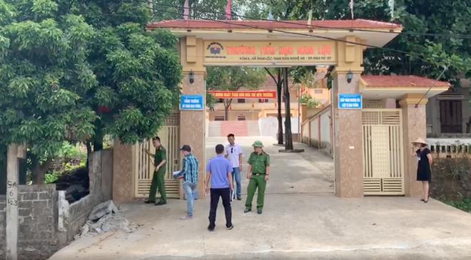 Phòng Giáo dục báo cáo vụ tường đổ sập đè chết học sinh lớp 5 ở Nghệ An - Ảnh 2.