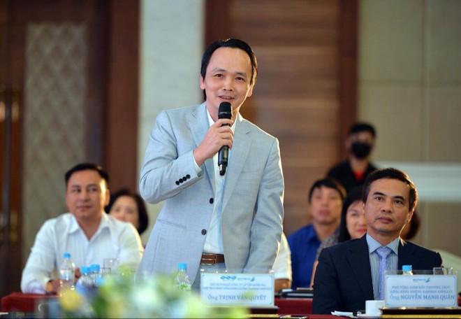 Ông chủ  Bamboo Airways Trịnh Văn Quyết: Nhiều người không tin và bảo tôi chém gió - Ảnh 1.