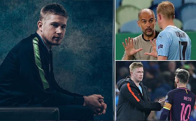 """Kevin De Bruyne: """"Tôi chẳng quan tâm tới thương vụ Messi"""""""
