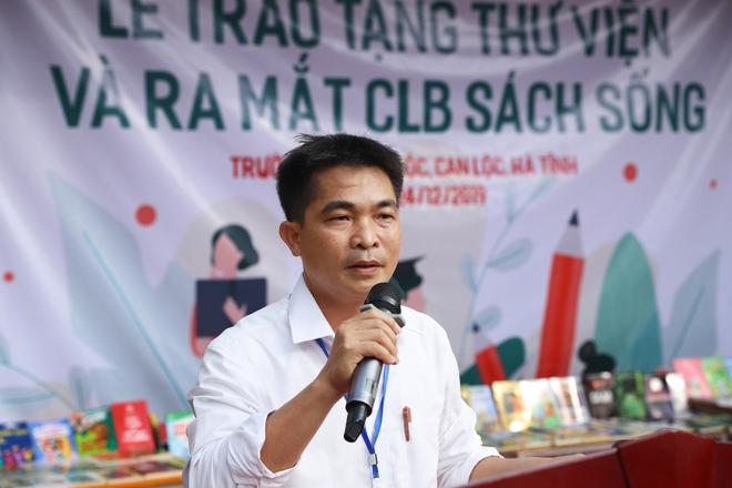 Kêu gọi ủng hộ sách cho 6 trường THCS tại Can Lộc, Hà Tĩnh - Ảnh 5.