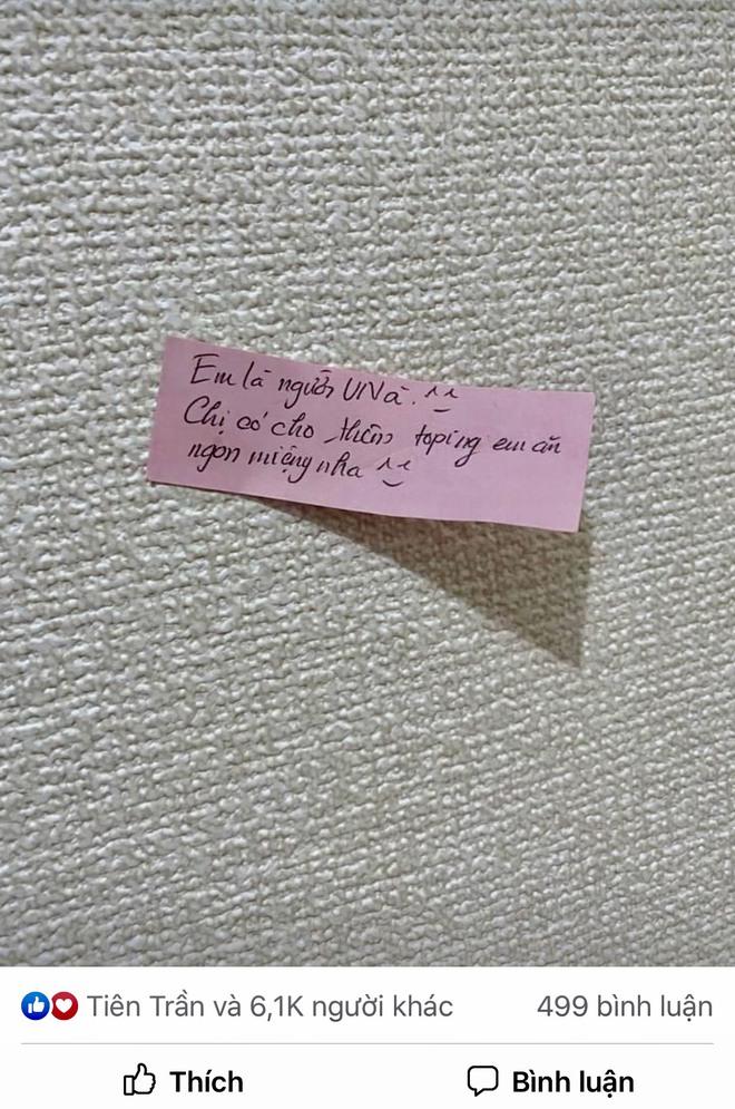Đặt bát mỳ, nữ du học sinh nhận thêm món lạ đi kèm cùng mảnh giấy với lời nhắn đặc biệt - Ảnh 3.