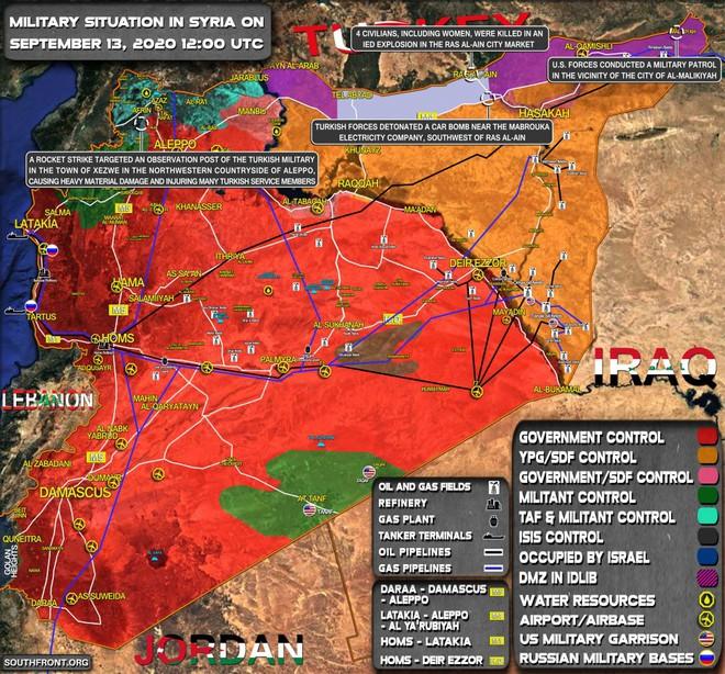 Syria bị tấn công, tên lửa S-300 bất lực, thiệt hại lớn - EU cảnh báo nóng với Thổ Nhĩ Kỳ - Ảnh 1.
