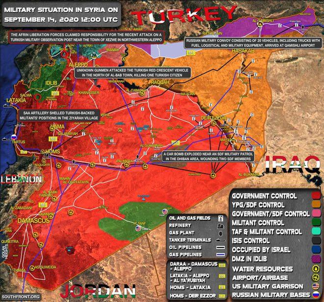 Chiến sự Syria: Tướng tình báo thoát chết trong gang tấc - Trực thăng tấn công Nga vây hãm căn cứ Mỹ - Ảnh 1.