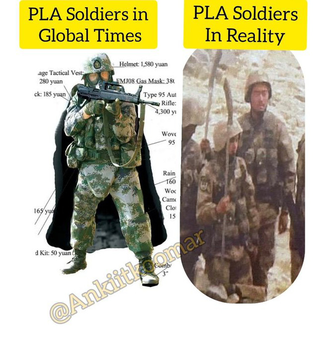 Cư dân mạng Ấn Độ chế giễu niềm tự hào của lính Trung Quốc: Đồ chơi bay giữa xung đột? - Ảnh 4.