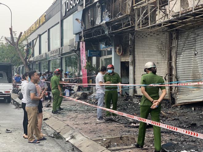 Lộ diện nghi can gây cháy chi nhánh ngân hàng Eximbank và nhà dân ở Sài Gòn - Ảnh 1.
