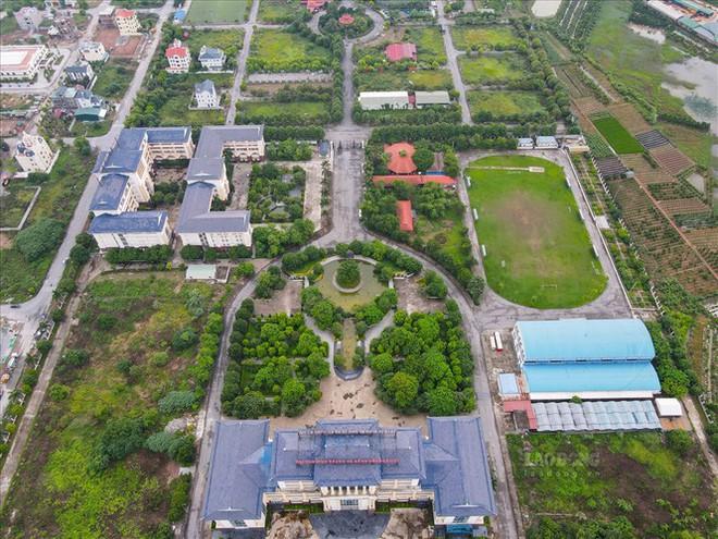 Thanh tra việc xây biệt thự khủng trên đất giáo dục ở Bắc Ninh - Ảnh 1.