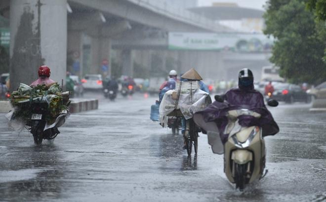 Thời tiết ngày 15/9: Miền Bắc ngày nắng, chiều tối có mưa dông