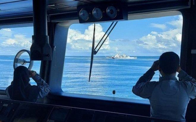 Indonesia đuổi tàu hải cảnh Trung Quốc trên biển Đông