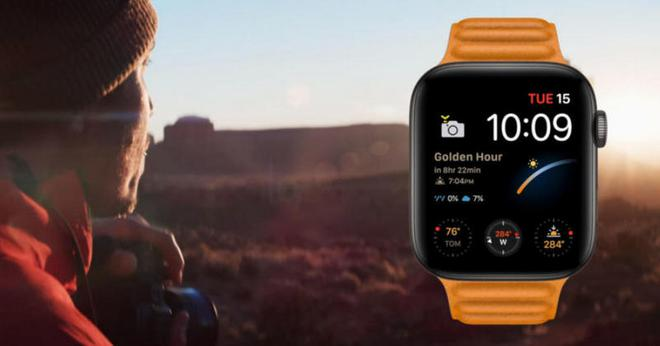 Apple Watch Series 6 trang bị tính năng mới, giúp thông báo giờ vàng cho các nhiếp ảnh gia - Ảnh 1.