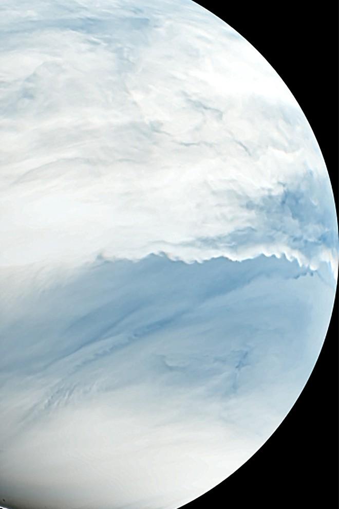 Hình ảnh sao Kim được chụp bởi tàu vũ trụ Akatsuki của Nhật Bản vào năm 2016. Nguồn: Nhóm dự án PLANET-C / JAXA
