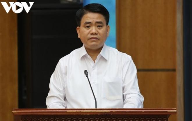Ông Nguyễn Đức Chung xin tại ngoại để chữa bệnh - Ảnh 1.