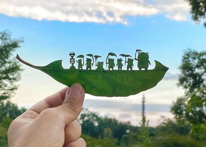 Bằng chứng độc đáo chứng minh lá cây có thể tạo nên tác phẩm nghệ thuật - Ảnh 11.