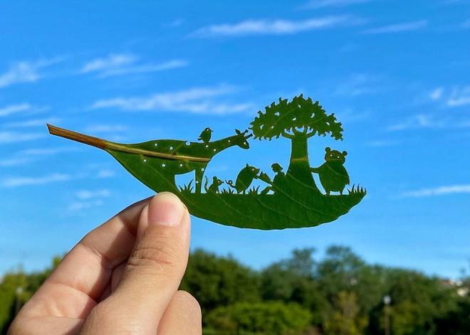 Bằng chứng độc đáo chứng minh lá cây có thể tạo nên tác phẩm nghệ thuật - Ảnh 8.