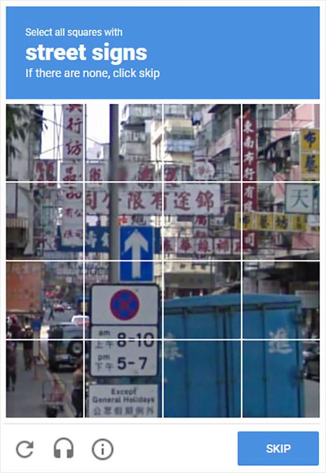 15 lần con người xoắn não với bài kiểm tra captcha để phân biệt người và robot của Google - Ảnh 2.