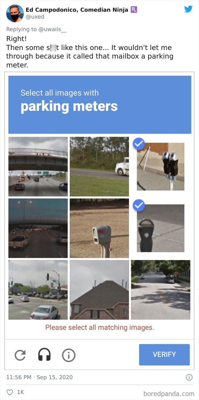 15 lần con người xoắn não với bài kiểm tra captcha để phân biệt người và robot của Google - Ảnh 3.