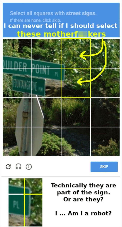 15 lần con người xoắn não với bài kiểm tra captcha để phân biệt người và robot của Google - Ảnh 6.