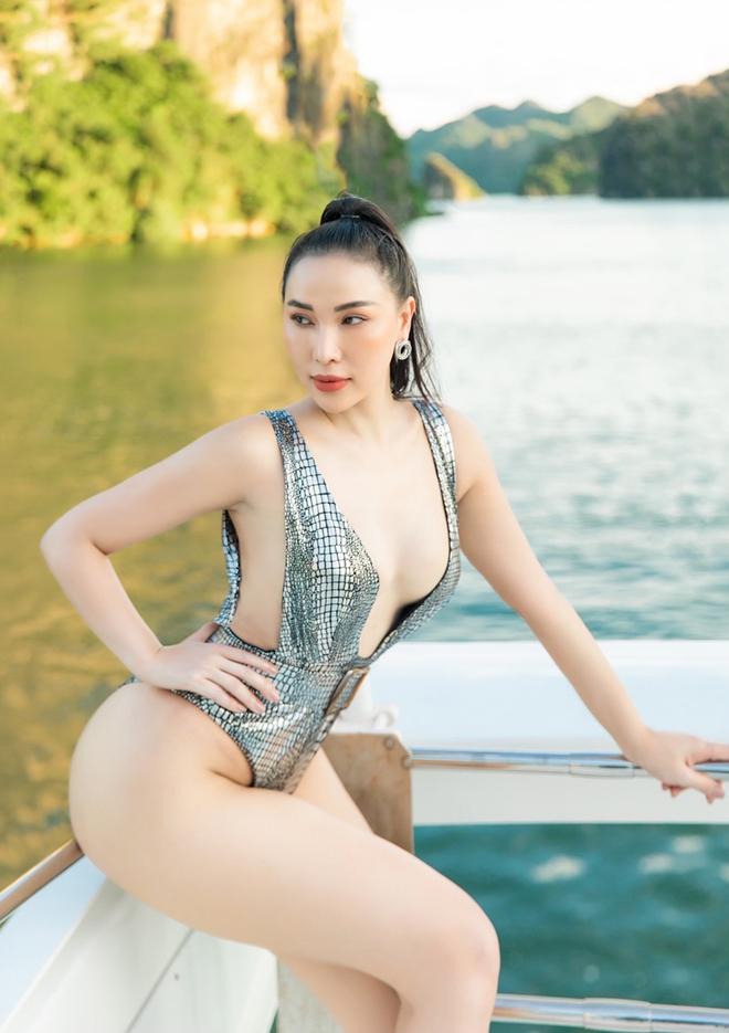 Quỳnh Thư tung ảnh diện áo tắm nóng bỏng - Ảnh 4.