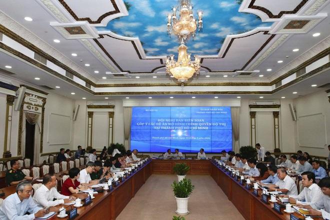Chủ tịch UBND TP HCM trải lòng về đề án chính quyền đô thị - Ảnh 1.