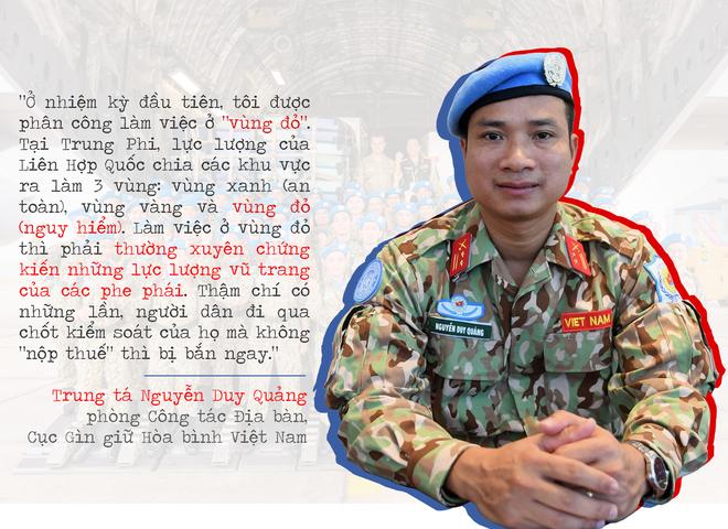 """Lính """"mũ nồi xanh"""" Việt Nam: Sẵn lòng với sứ mệnh ở châu Phi - ảnh 3"""