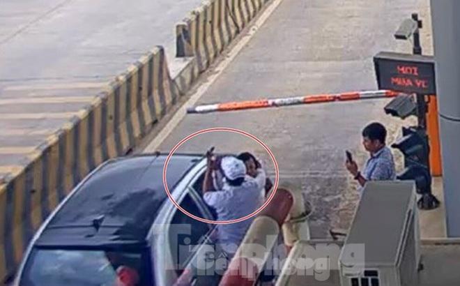 Bắt tạm giam 2 đối tượng đánh nhân viên Trạm BOT Ninh Xuân nhập viện